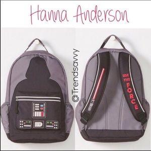 HANNA ANDERSON Star Wars Darth Vader Backpack bag